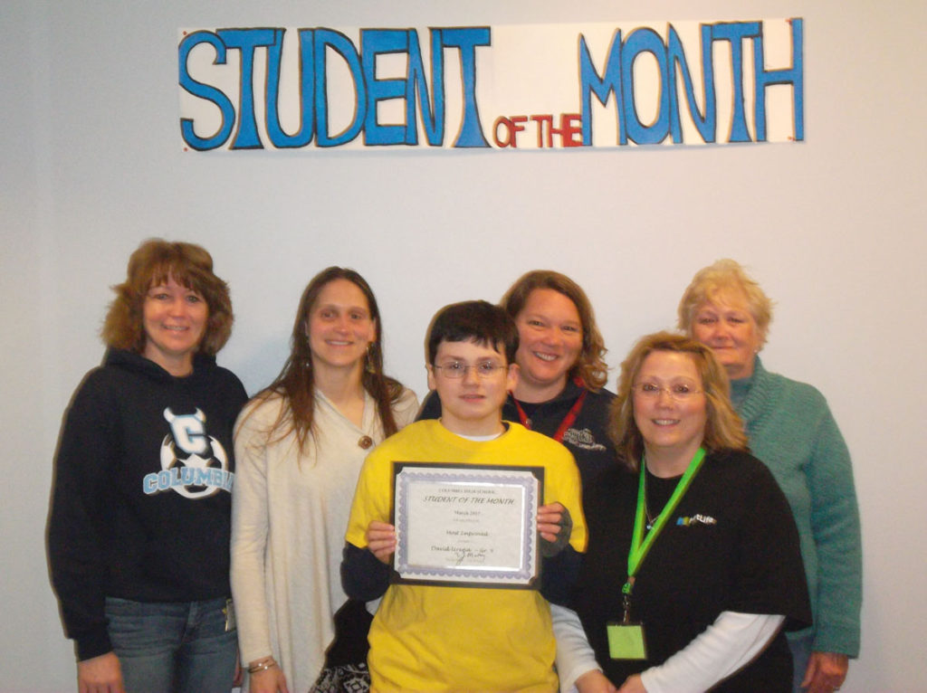 David Urena named CHS Student of the Month
