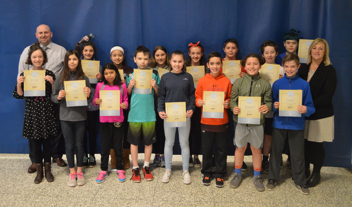 Goff Students of the Month - 6th Grade