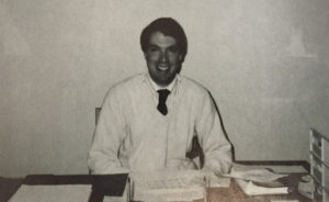 John Caporta as an assistant principal at Genet