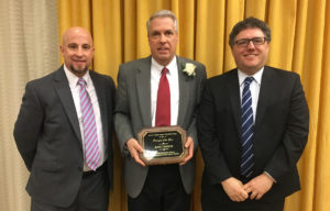 John Caporta receives award