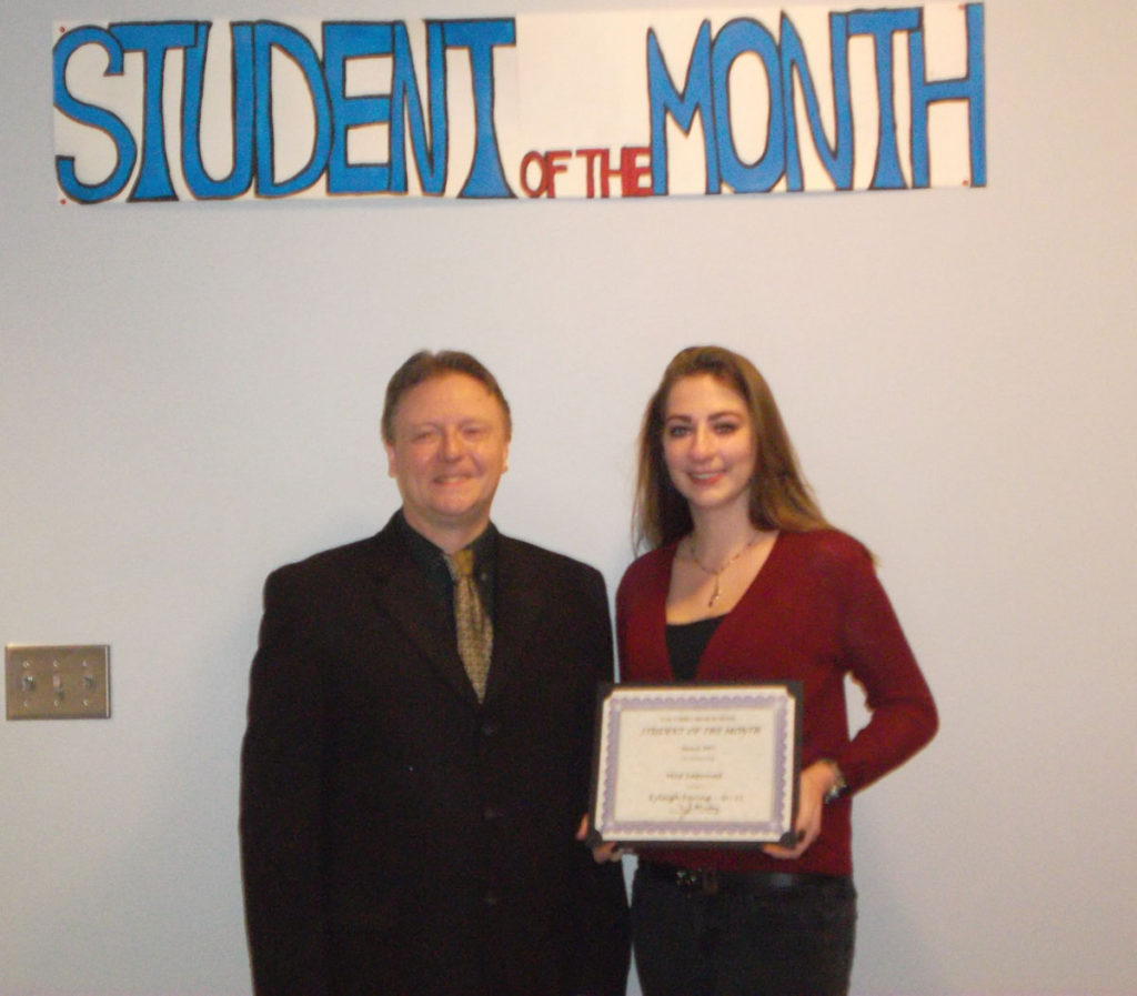 Kyleigh Earing named CHS Student of the Month