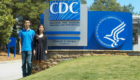 Yang Yang and Abby Radin at Center for Disease Control