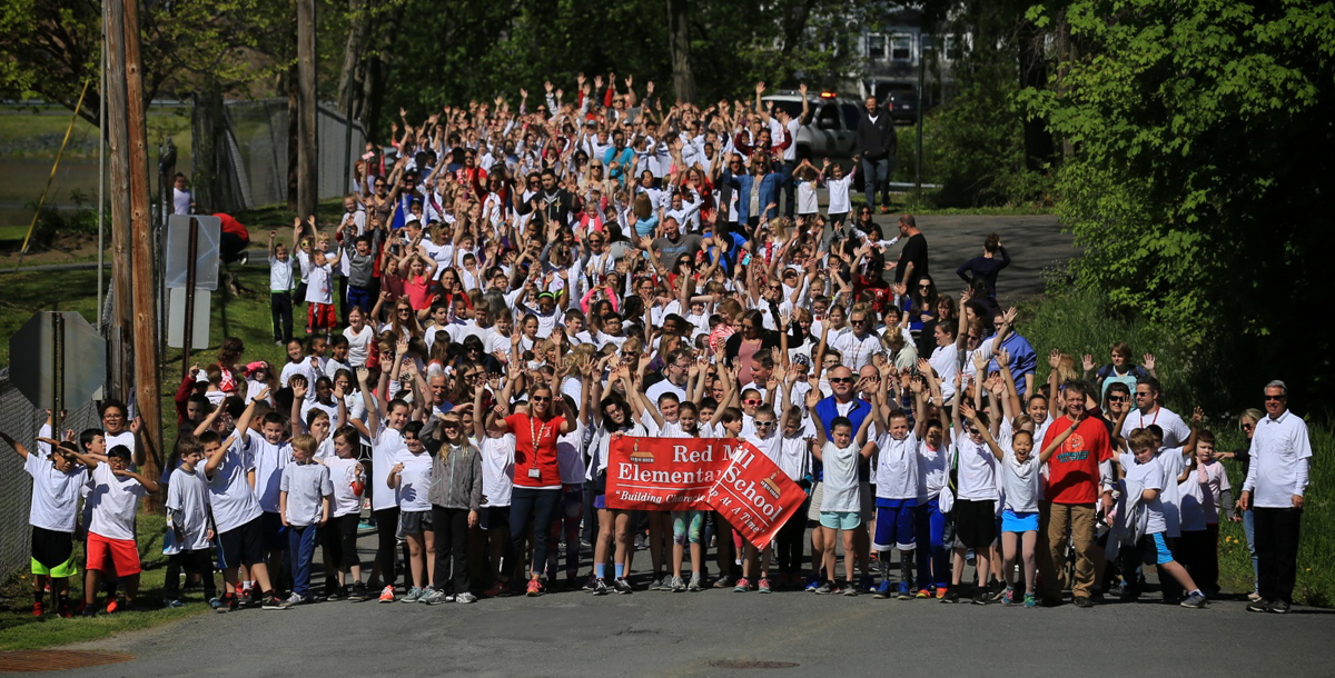 2017 Red Mill character education walk