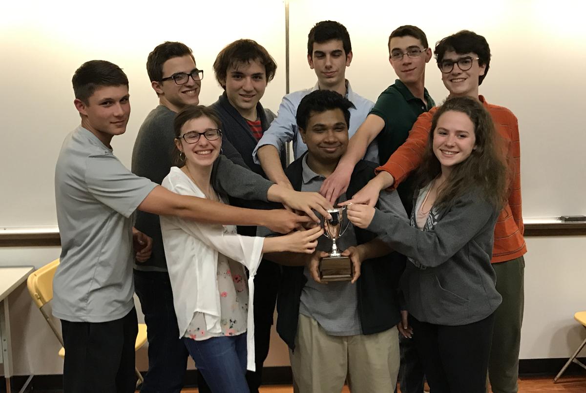 Columbia MasterMinds team 2016-17