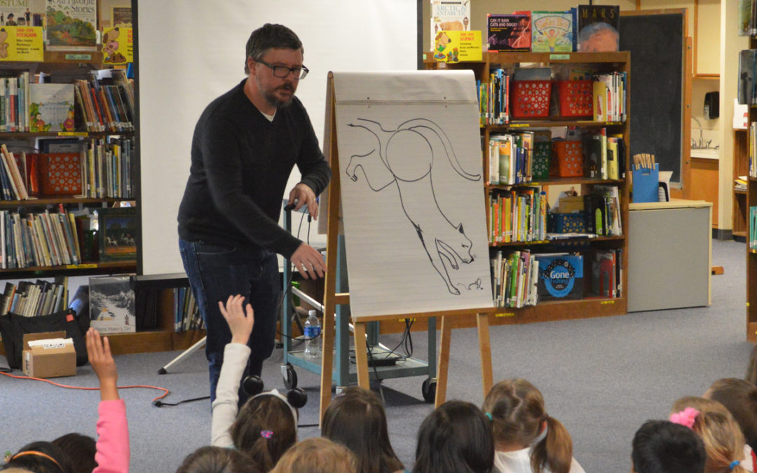 Children's Book Author Visits Red Mill