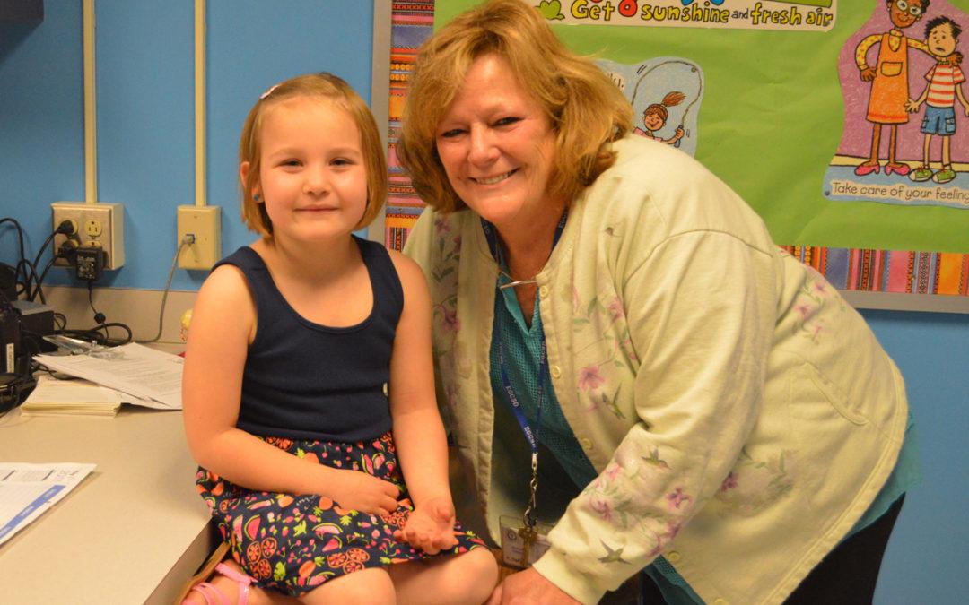 Times Union Honors Green Meadow School Nurse