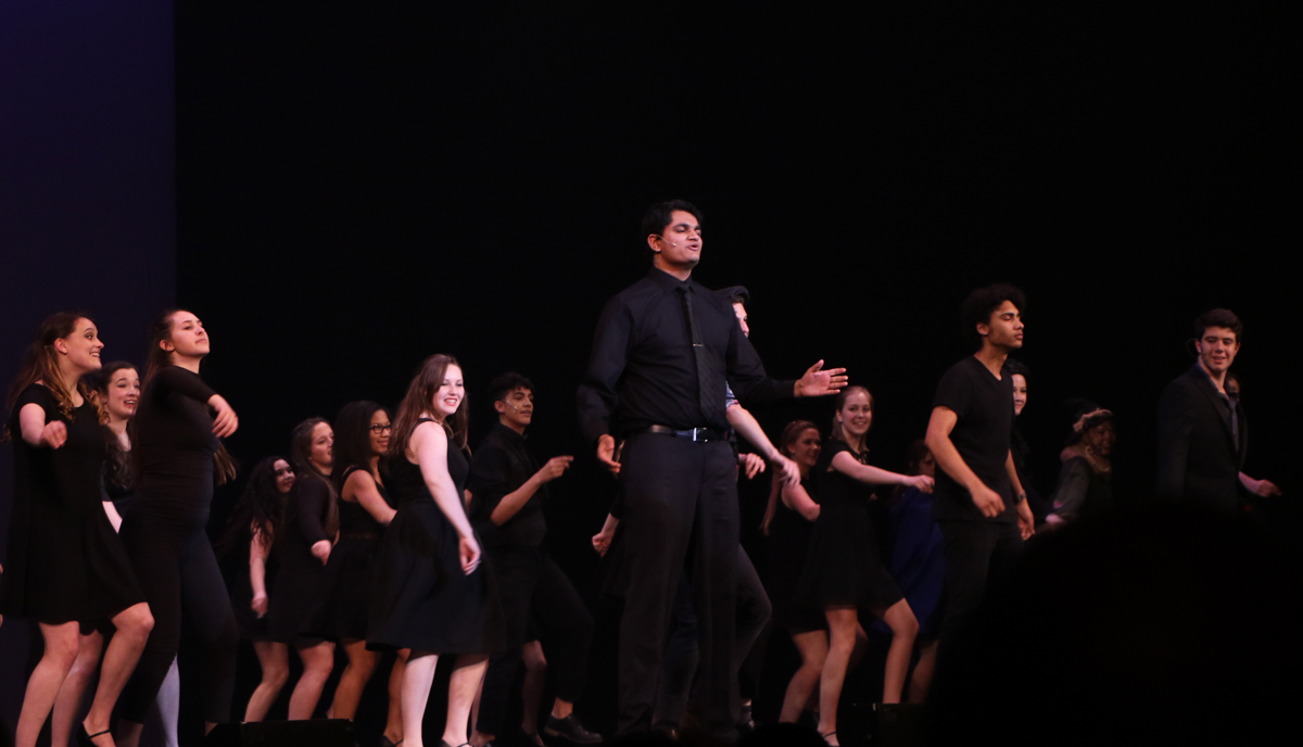 Nikhil Bhat at High School Musical Theatre Awards
