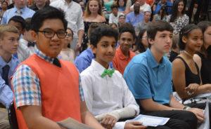 Students at Elevation Celebration