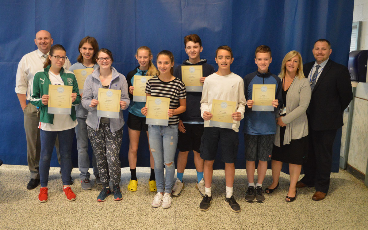Goff Students of the Month