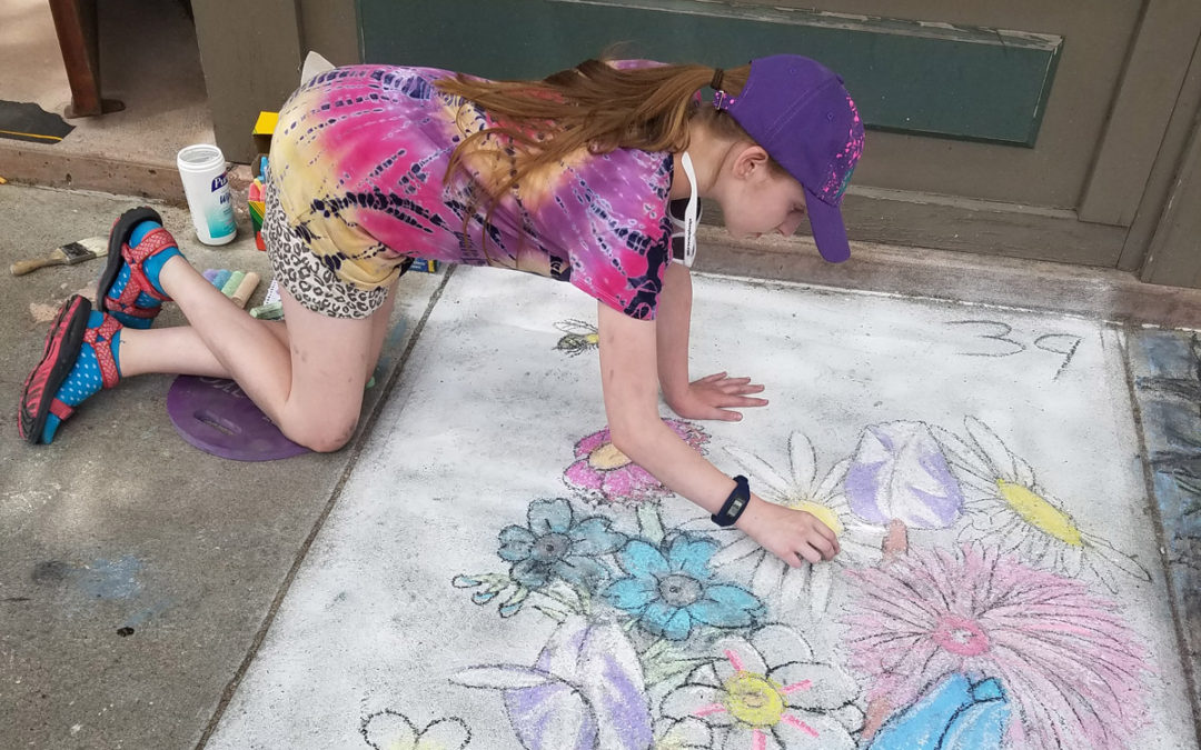 Bell Top and Goff Students Win Troy Street Painting Contest