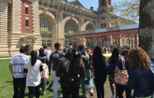 ENL field trip to Ellis Island