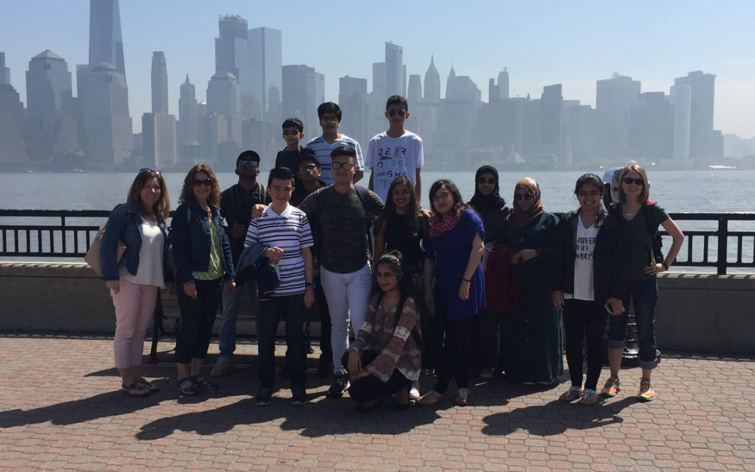 ENL Students Visit Ellis Island and Statue of Liberty