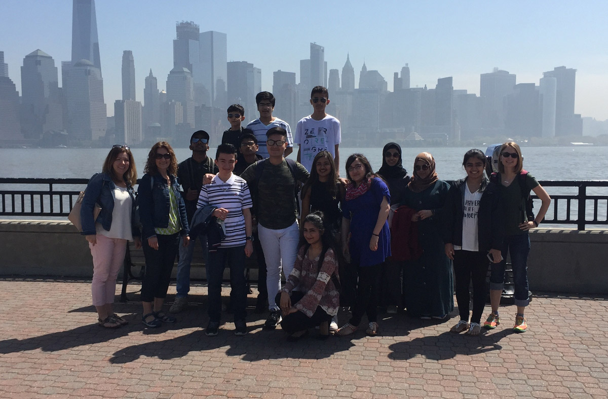 ENL field trip to NYC