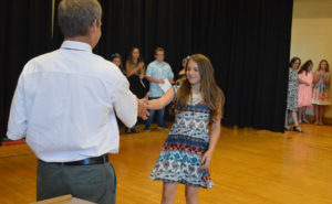 Red Mill Moving Up Ceremony