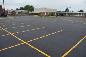 DPS parking lot