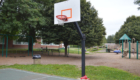 Green Meadow basketball hoop