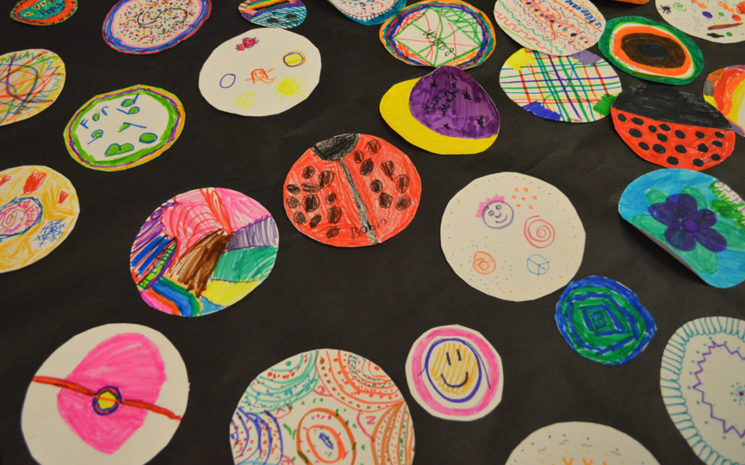 Students Get Creative on International Dot Day