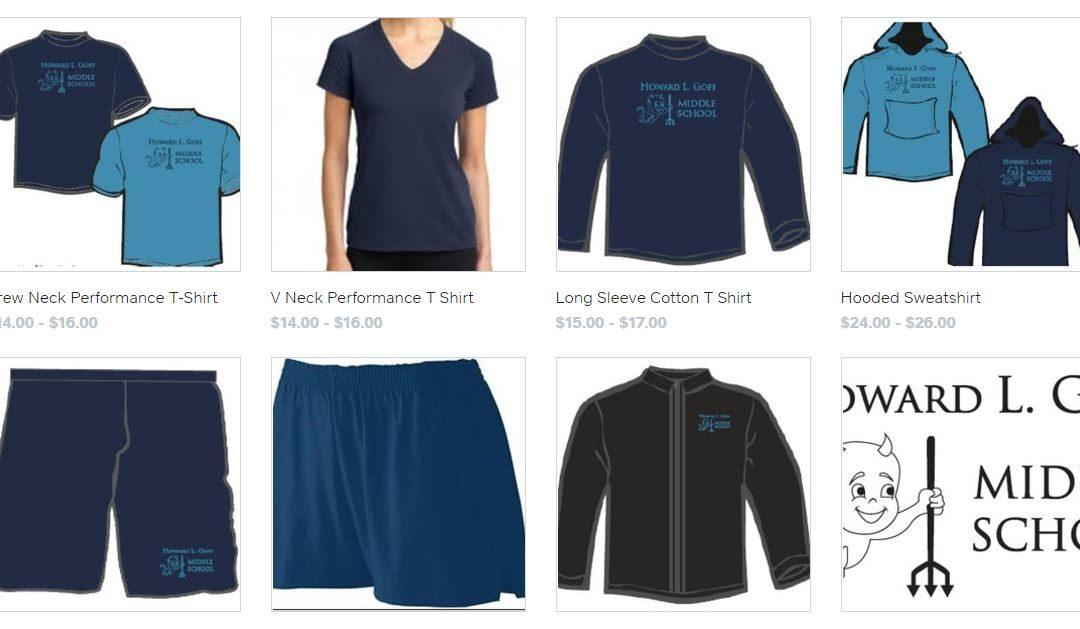 Goff Sportswear for Sale