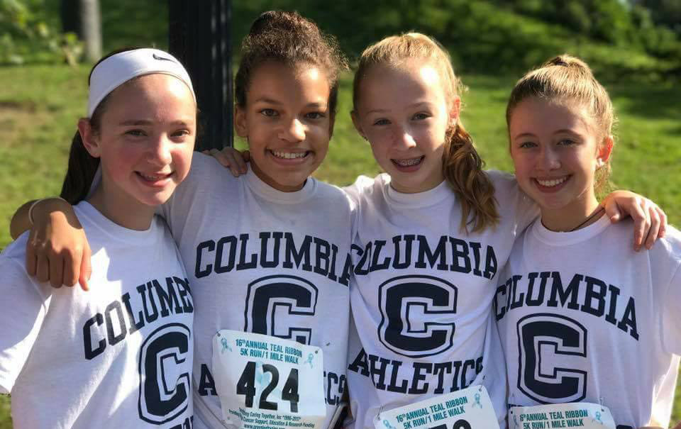 Columbia Athletics Raises $10,000 for Ovarian Cancer Research