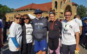 Teal Ribbon Run participants