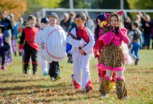 Green Meadow Halloween parade