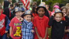 Students at Fire Safety Day