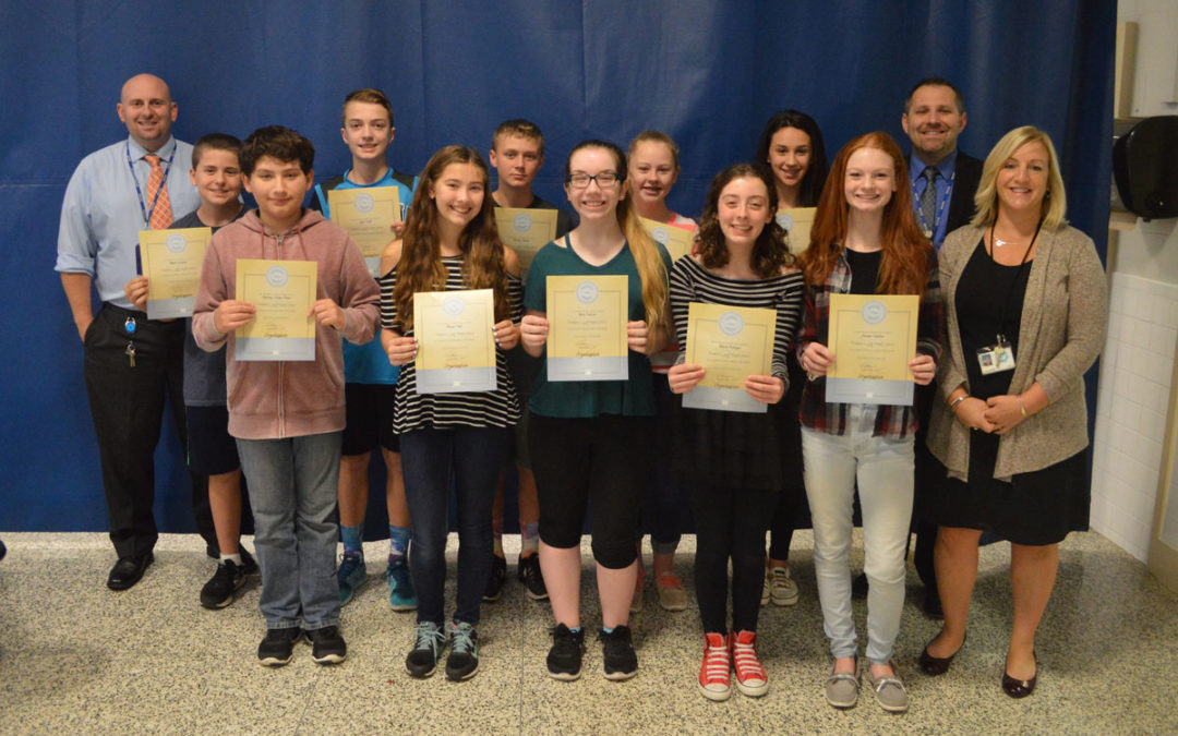 Goff Honors September Students of the Month
