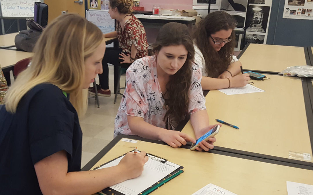 Art Students Learn About College and Career Options