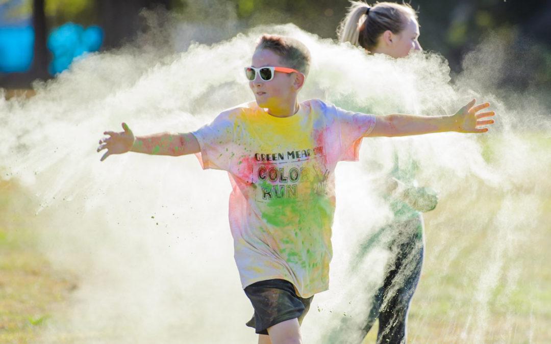 Photos: Green Meadow Color Run