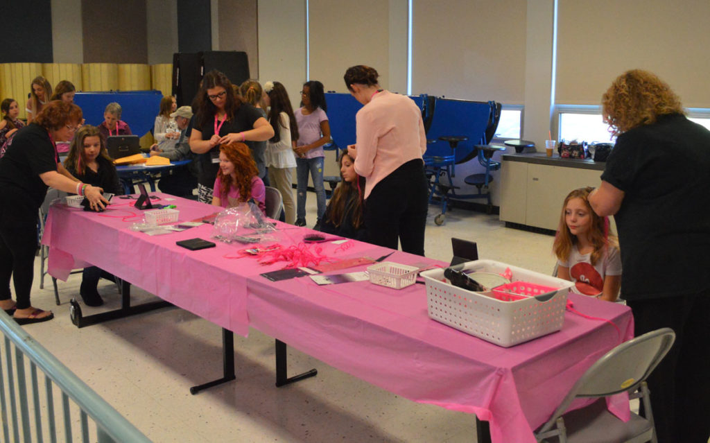 Fundraiser table