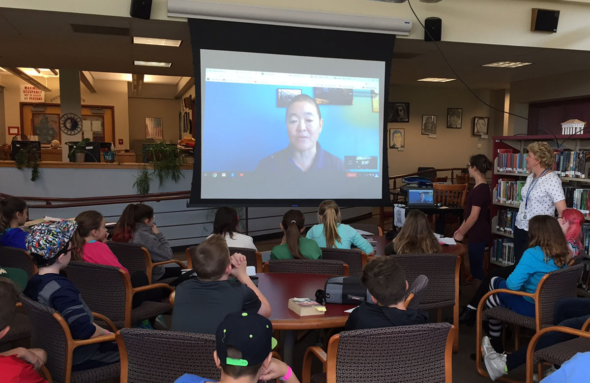 Video chat with NASA Engineer Lori Shiraishi