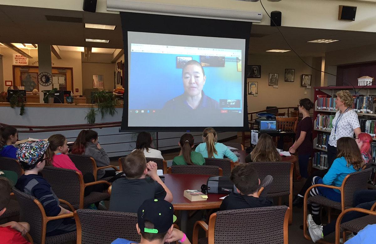 Video chat with NASA Engineer Lori Shiraishi
