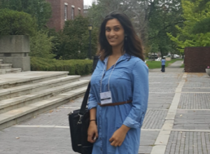 Veda Sripada at Harvard Science Research Conference.