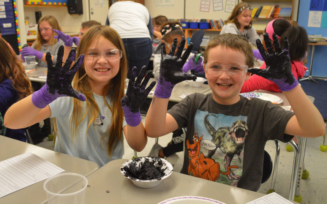 Regeneron Leads STEM Experiments at Red Mill