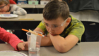 Red Mill students conduct STEM experiments