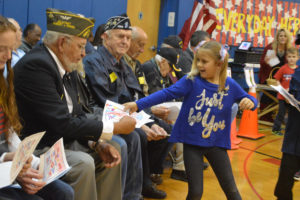 Veterans Day celebration