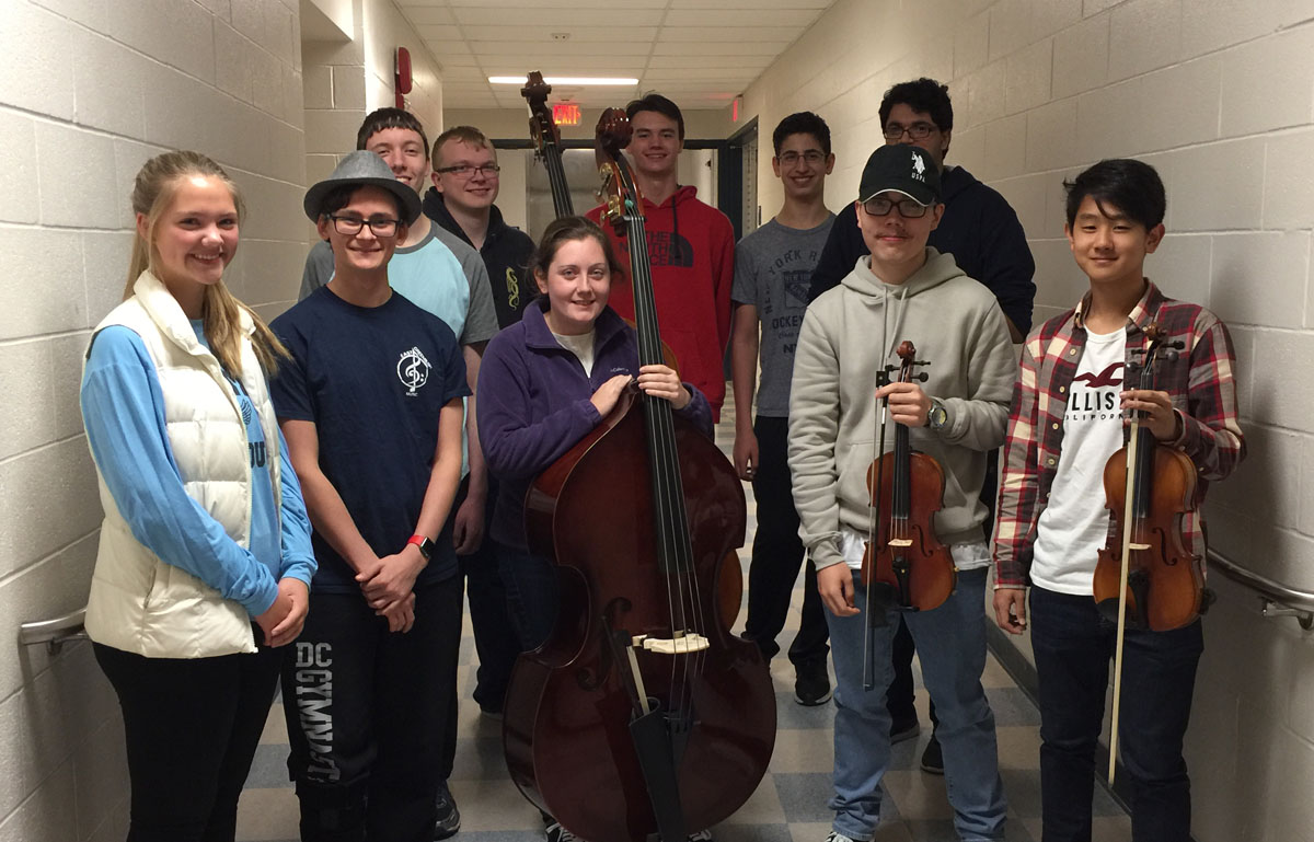 2017 area all state musicians
