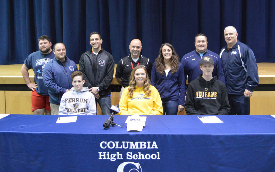 Columbia Blue Devils Make College Commitments