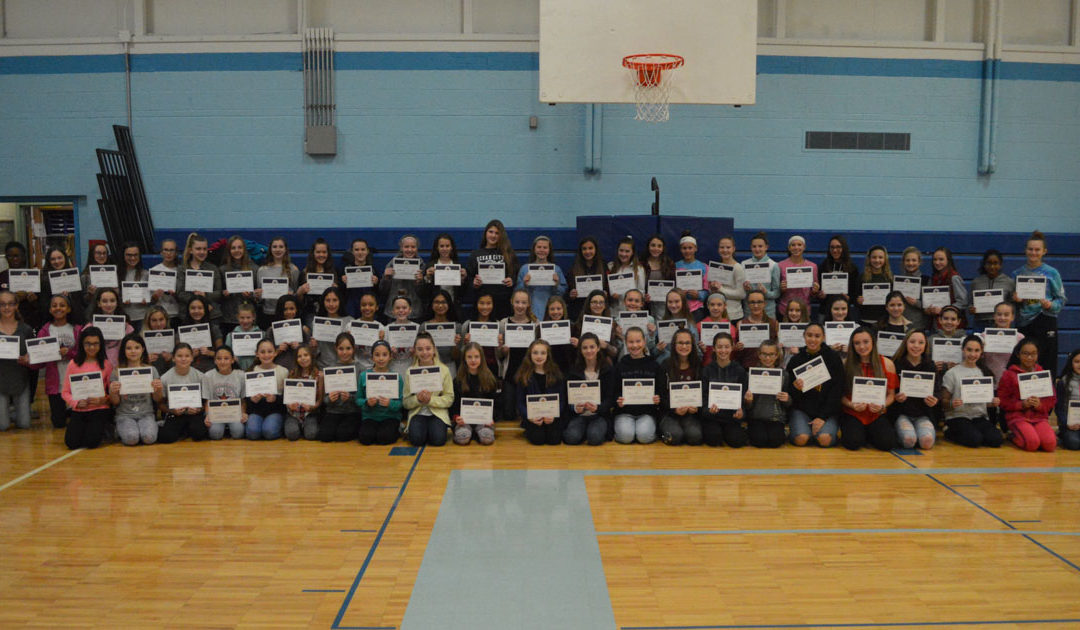 Goff Students Receive Physical Education Awards