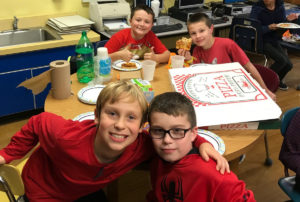 Sumdog competition pizza party