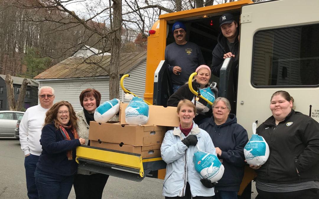 Transportation Department Donates Turkeys for Thanksgiving Meals