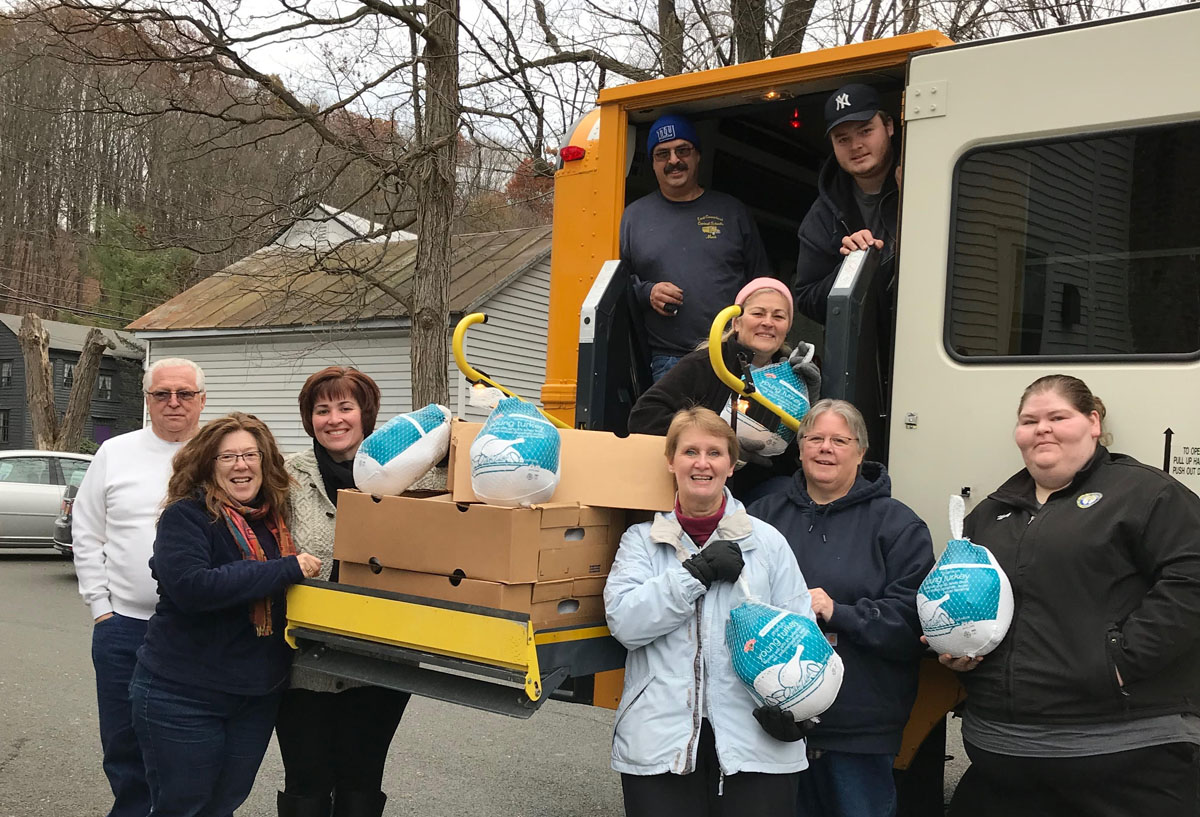 Transportation Dept donates turkeys for Thanksgiving
