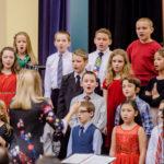 Green Meadow chorus singing