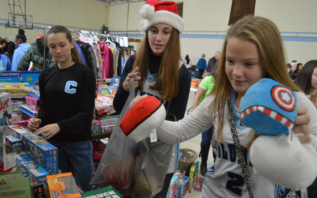 Students Find Joy in Giving Back