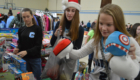 Students volunteering at the CoNSERNS-U Christmas Store