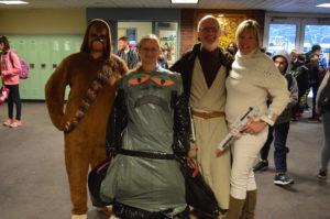 Teachers on Star Wars Day