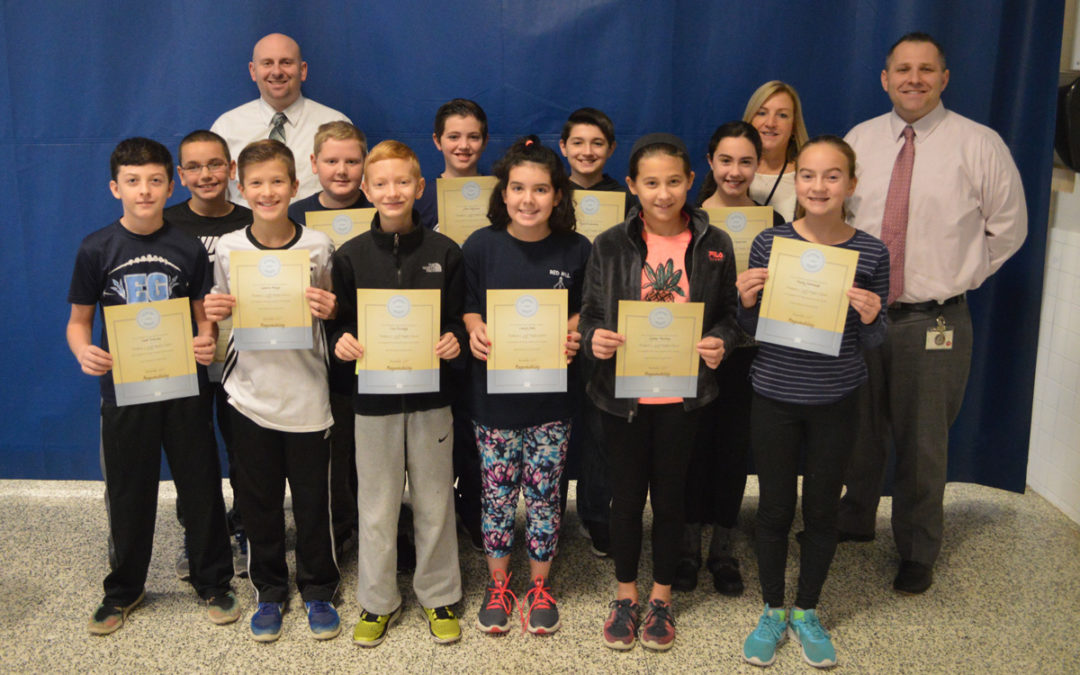 Goff Honors November Students of the Month