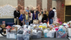 Athletics donates holiday gifts