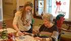 Students visit seniors at Beverwyck Senior Living Community