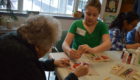 Students visit seniors at Beverwyck Senior Living Community